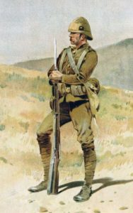 Boer War Soldier