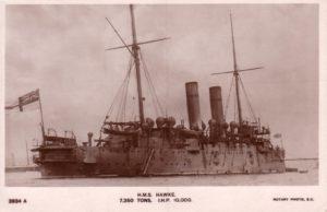 H.M.S Hawke